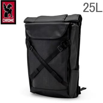 クローム Chrome バックパック リュック 25L ブラーボ 2.0 BG-190 ブラックローム メンズ レディース 通勤 通学 ロールトップ バッグ