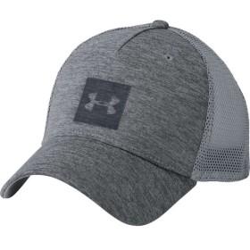 アンダーアーマー メンズ キャップ 帽子 Closer Trucker Hat Graphite/Steel