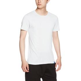 [グンゼ] インナーシャツ クールマジック 綿混 クルーネック半袖 MC2413H メンズ ホワイト 日本 M (日本サイズM相当)