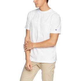 [チャンピオン] スクリプトロゴTシャツ ベーシック C3-M350 メンズ ホワイト 日本 XL (日本サイズXL相当)