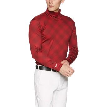 [ミズノ ゴルフ] インナーシャツ バイオネクスト タートルネック長袖 52MJ8502 メンズ タンゴレッド 日本 XL (日本サイズXL相当)