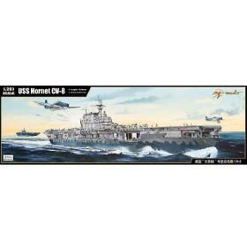 メリットインターナショナル U.S.S.ホーネット CV-08 ドーリットル空襲:1/200 プラモデル