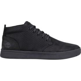 ティンバーランド Timberland メンズ ブーツ シューズ・靴 Davis Square Chukka Boots Black