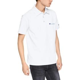 [チャンピオン] ポロシャツ C3-P306 メンズ ホワイト 日本 M (日本サイズM相当)
