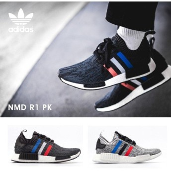 『adidas-アディダス-』NMD R1 PK 〔BB2887/BB2888〕[オリジナルス エヌエムディー ランナー プライムニット トリコロール メンズ スニーカー 靴]