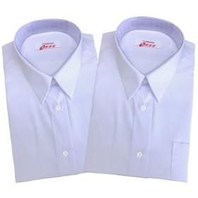 【トンボ】TOMBOW スクールシャツ 女子 半袖 白 A体 2枚セット 形態安定・抗菌防臭 tombow10 (M)