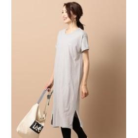 【any SiS:ワンピース】【Leeコラボ】Tシャツ ワンピース