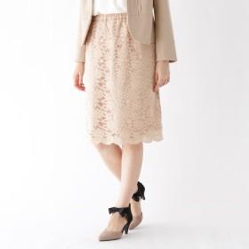 Couture Brooch(クチュールブローチ)/【WEB限定サイズ(LL)あり】ストレッチレースタイトスカート
