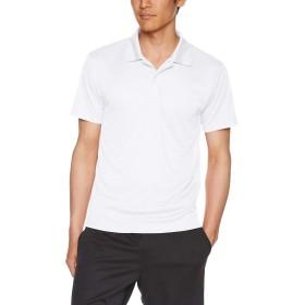 [グリマー] 半袖 3.5オンス インターロック ドライ ポロシャツ 00351-AIP メンズ ホワイト L (日本サイズL相当)