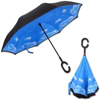逆さ傘 レディース メンズ 晴雨兼用 男女兼用 高密度 耐風撥水 UVカット 携帯しやすい 涼しい UP遮光 梅雨対策 雨傘 日傘 車用 便利 おしゃれ 高級感 日焼け止め 多色
