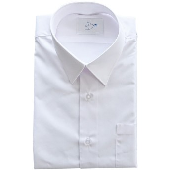 スクールYシャツ 形態安定 抗菌防臭消臭加工 長袖 A体 男子 学生 カッターシャツ (165A)