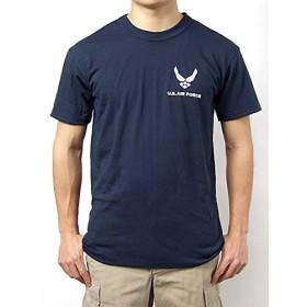 Tシャツ、US.エアフォース、ネービー(T46NF-S)階級章ワッペン付