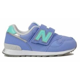 送料無料 ニューバランス 子供靴 キッズシューズ 靴 NB PO313 LC ライラック/ミント 人気の313モデル 幅広ベルト