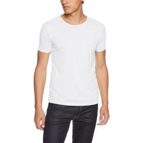 [ダルク] Tシャツ DM201 メンズ ホワイト 日本 S-(日本サイズS相当)