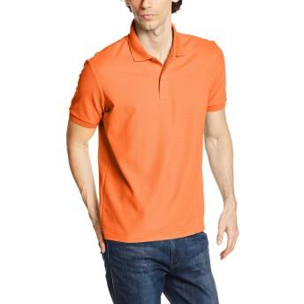 [プリントスター]半袖 5.3オンス TC 鹿の子 スタンダード ポロシャツ 00223-SDP 015 オレンジ Sサイズ [メンズ]
