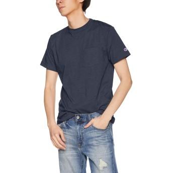 [チャンピオン] Tシャツ C3-PS323 メンズ ネイビー 日本 L (日本サイズL相当)