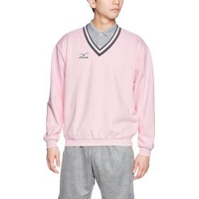 (ミズノ)MIZUNO テニスウェア Vクビスウェットシャツ [UNISEX] A75LM250 65 ライトピンク M