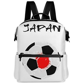 WAVA リュック 大容量 おしゃれ かわいい サッカー フットボール 蹴球柄 シンプル リュックサック 高校生 防水 多機能バッグ バックパック 通勤 通学 旅行用