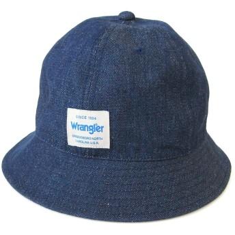 [Wrangler(ラングラー)]帽子 デニムメトロハット (ネイビー)