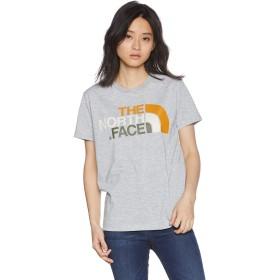 [ザ・ノース・フェイス] Tシャツ ショートスリーブカラフルロゴティー レディース ミックスグレー 日本 XL (日本サイズXL相当)