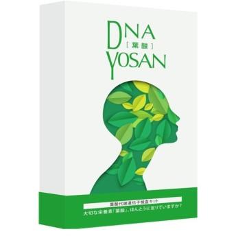 DNA YOSAN 葉酸代謝遺伝子検査キット 口腔粘膜用 葉酸不足チェック WEBレポート
