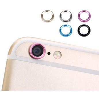 iPhone6s iPhone6sPlus カメラ レンズ 保護 リング キズ防止 アルミニウム