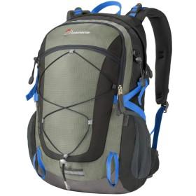 マウンテントップ(Mountaintop)40L 旅行 キャンプ バックパック 登山バッグ 自転車バックパック デイバッグ (グレー)