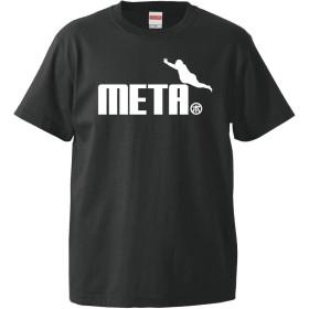 Tシャツ 【メタボ ジャンプ】【黒T】【XL】/K7/