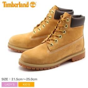 ティンバーランド 靴 ブーツ レディース TIMBERLAND ジュニア 6インチ プレミアムブーツ キッズ ブランド おしゃれ