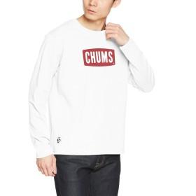 [チャムス] ロングスリーブTシャツ CHUMS Logo L/S T-Shirt White 日本 L (日本サイズL相当)