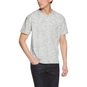 (リピード) REPIDO 半袖Tシャツ クルーネック 半袖 Tシャツ メンズ ビッグT ポケット オフホワイト XLサイズ