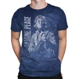 JOHN LENNON ジョンレノン - Imagine Peace/タイダイ/Tシャツ/メンズ 【公式/オフィシャル】