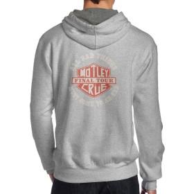 MOTLEY CRUE モトリー クルー ロゴ スウェット パーカー プルオーバー メンズ スウェットシャツ フード付き ジム スポーツ トレーニング カジュアル 棉 バックプリント 長袖トップス おしゃれ 男性着