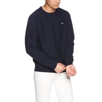 [ラコステ] 無撚糸 プレミアムスウェットシャツ SH109EL メンズ ネイビー EU 003-(日本サイズM相当)