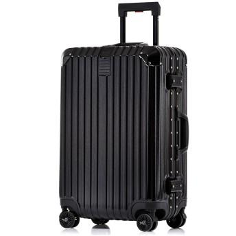 Totell スーツケース 【1年間修理保証】 TSAロック 出張 通勤 アルミフレーム キャリーケース 機内持ち込み TSAロック 丈夫 小型 人気 8輪 キャリーバッグ 旅行用品 ビジネス ブラック