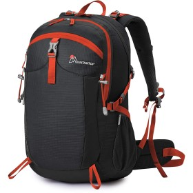 Mountaintop 40L リュックサック バックパック 登山リュック 旅行バッグ 大容量 軽量 通気 レインカバー付き アウトドア ハイキング用