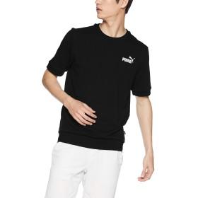 [プーマ] トレーニングウェア ESS+ 半袖クルースウェット [メンズ] 844264 ブラック (01) 日本 M (日本サイズM相当)