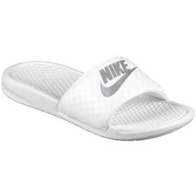 NIKE ナイキ サンダル ベナッシ スライド Nike Benassi JDI Slide White Metallic Silver US6(23cm) WMS