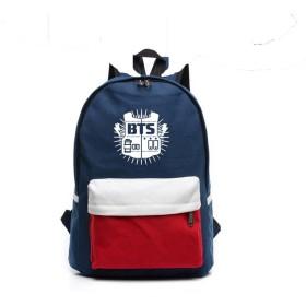 (ラブビューティー) Lovebeauty  韓流グッズ 応援グッズ 防弾少年団 BTS バック 大容量 通勤 通学 おしゃれ かばん リュック 鞄