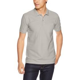 [プリントスター] 半袖 5.8オンス TC 鹿の子 ポロシャツ [ポケット付] 00100-VP メンズ グレー LL (日本サイズLL相当)