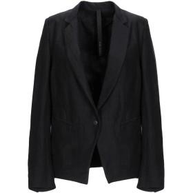 《期間限定 セール開催中》POME BOHMIEN レディース テーラードジャケット ブラック 40 麻 67% / レーヨン 33%
