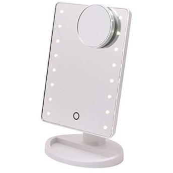 LED 卓上ミラー ホワイト