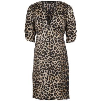 《セール開催中》ALLSAINTS レディース ミニワンピース&ドレス サンド XS レーヨン 100% KOTA LEPPO DRESS