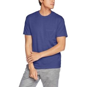 [アイスブレーカー] Tシャツ ネイチャーダイド ショートスリーブポケットクルー メンズ ブルーベリー US M (日本サイズL相当)