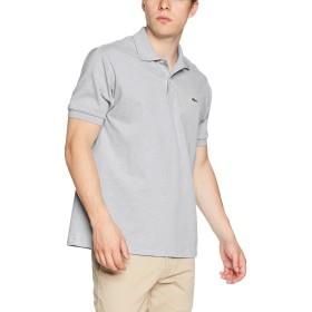 (ラコステ)LACOSTE ラコステL.12.64ポロシャツ(杢・半袖) L1264AL CCA グレー 005