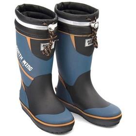 [ノースウィング] 男の子 キッズ 子供靴 運動靴 通学靴 レインブーツ 長靴 ドローコード 反射材 防水 雨 雪 靴 カジュアル デイリー アウトドア スクール 学校 137002 コバルト 21.0cm