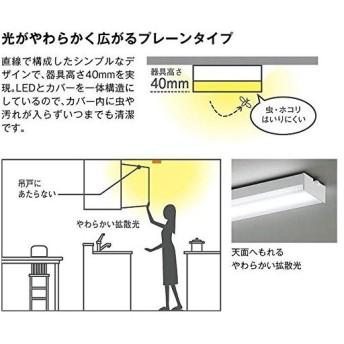 大光電機(DAIKO) LEDキッチンライト (LED内蔵) LED 24W 温白色 3500K DCL-38485A