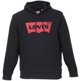大きいサイズ メンズ Levi's(リーバイス) プルオーバースウェットパーカー ロゴ (2XL)/(3XL) 4L(3XL) ブラック