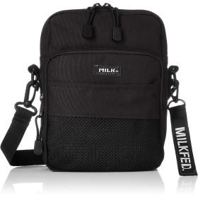 [ミルクフェド] MESH POCKET SHOULDER BAG 03182084 BLACK