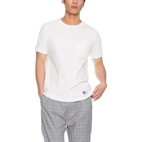 [ラッセルアスレティック] ポケ付半袖Tシャツ RC-1002 メンズ ホワイト 日本 L (日本サイズL相当)
